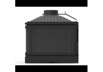 Чугунная топка камин KFD ECO MAX 7 D L/R c  шибером