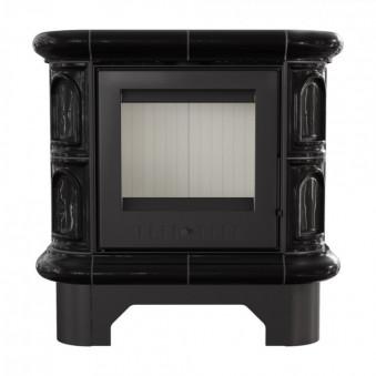 Печь WK 440 кафель черная