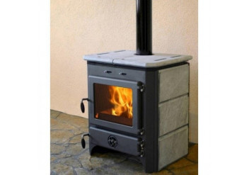 Стальная печь-камин MBS Vulkan