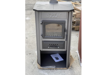 Чугунная печь-камин SPIN EKONOMIK