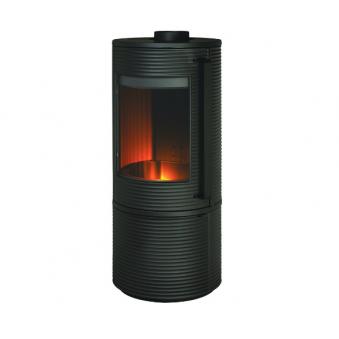 Чугунная печь-камин INVICTA ALTARA - вермикулит футировка