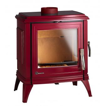 Чугунная печь-камин INVICTA SEDAN M красная эмаль