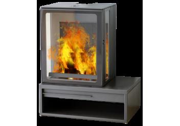 Чугунная печь камин  Plamen Eco Minimal 35