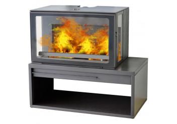 Чугунная печь камин  Plamen Eco Minimal 50