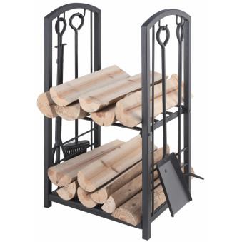 Каминный набор с корзиной для дров Lienbacher 21.00.208.2